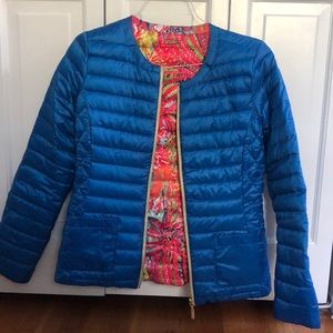 Lilly Pulitzer reversible insulated jacket